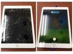 iPad6画面割れ修理
